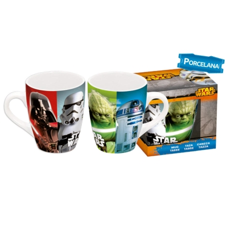 Star Wars porcelán bögre díszdobozban termékfotója