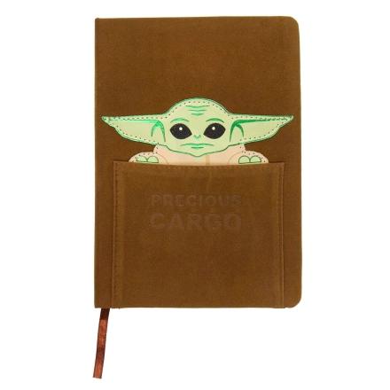 Stars Wars The Mandalorian Yoda Child A5 műbőr jegyzetfüzet termékfotója