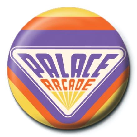 Stranger Things Palace Arcade kitűző termékfotója