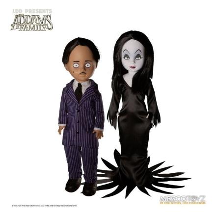 The Addams Family LDD Gomez + Morticia Dead Dolls csomag figura 25cm termékfotója