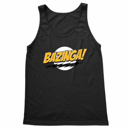 The Big Bang Theory Bazinga férfi trikó termékfotója