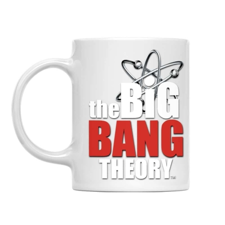 The Big Bang Theory Logo bögre termékfotója
