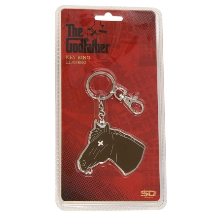 The Godfather horse head kulcstartó termékfotója