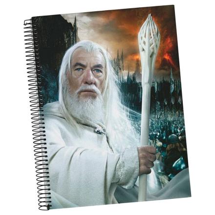 The Lord of the Rings Gandalf A5 jegyzetfüzet termékfotója