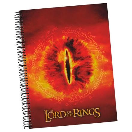 The Lord of the Rings Sauron Eye A5 jegyzetfüzet termékfotója