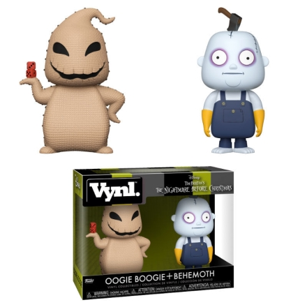 Vynl figurák Disney Nightmare Before Christmas Oogie Boogie és Behemoth termékfotója