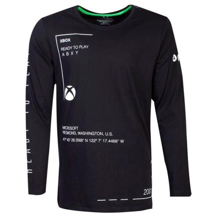 Xbox Ready to Play hosszú ujjú póló [S] termékfotója